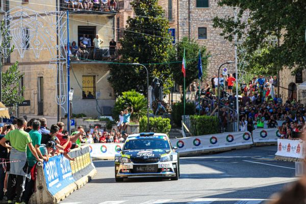 Rally di Roma Capitale standings after Saturday stages