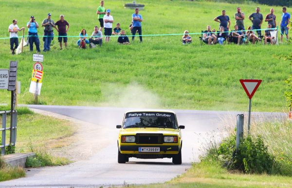 Gruber/ Kollmann - Rallye Weiz: National trifft International