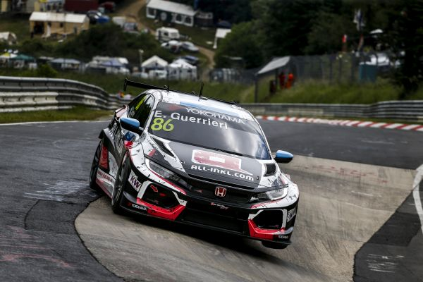 Guerrieri storms to DHL WTCR pole in Germany