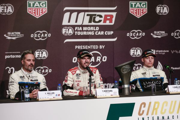 WTCR Portugal Race 3 press conference