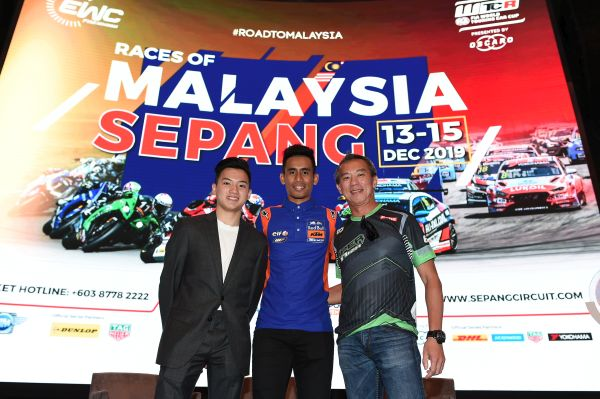 Malaysian MotoGP rider Hafizh Syahrin gets double time with Sepang WTCR wildcard entry