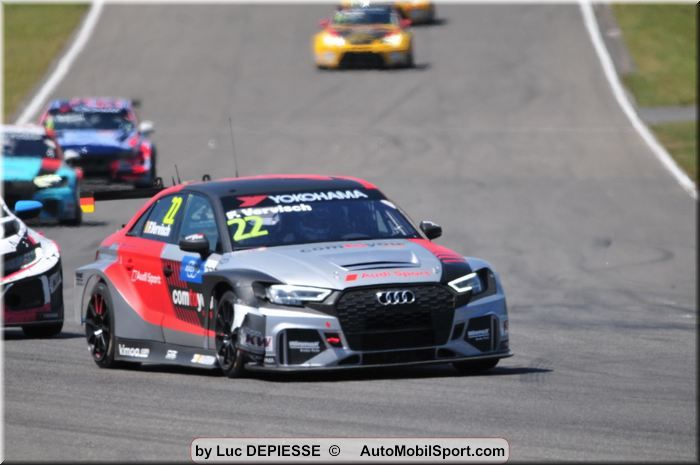 Best FIA WTCR weekend for Audi Sport at home round