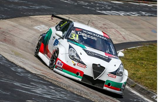Another great week-end for the Alfa Romeo Giulietta TCR by Romeo Ferraris
