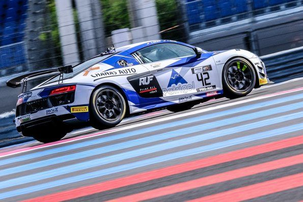Second GT4 France title in a row for Saintéloc Racing