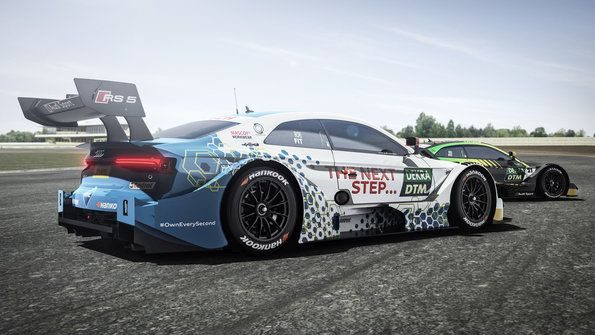 Audi RS 5 DTM with innovative fuel for the first time - Premiere at DTM finale