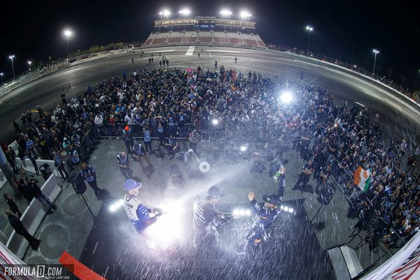 James Deane is crowned three-time Pro Champion at Formula Drift Irwindale finals