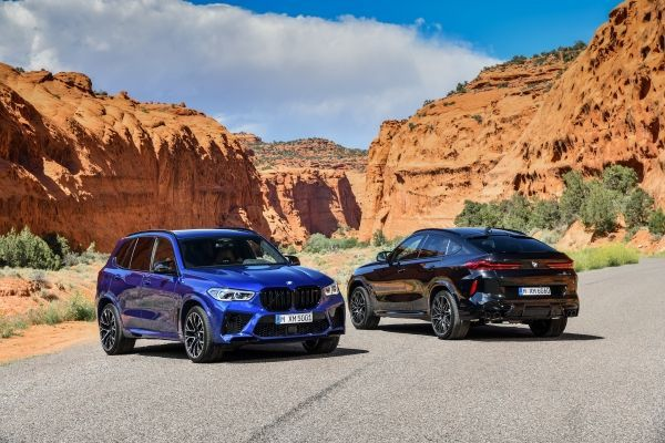The new BMW X5 M and BMW X5 M Competition and BMW X6 M and BMW X6 M Competition