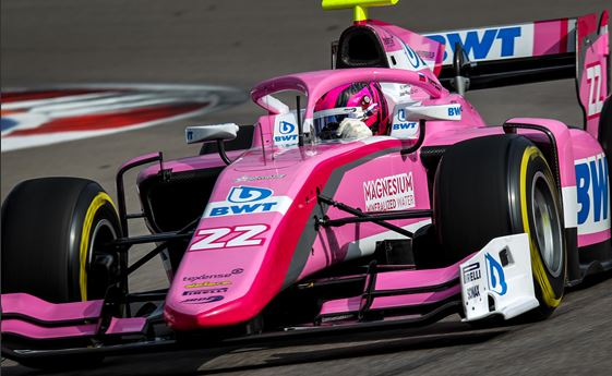 BWT Arden back among the points in FIA Formula 2 at Sochi