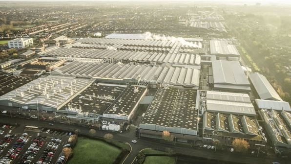 Bentley Motors' Headquarters and Main Plant now CO2 neutral
