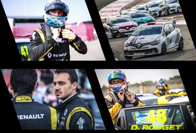 Clio Cup - Three contenders for one title at Circuit Paul Ricard