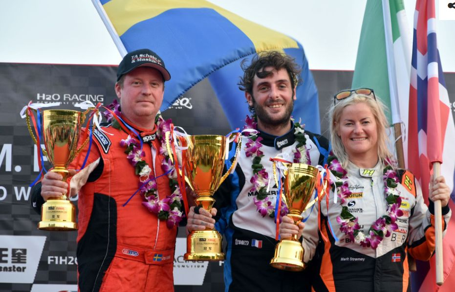Carella wins UIM F1H2O GP of Xiamen as Andersson move into lead