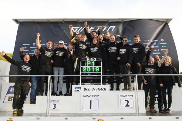 Harry King romps to championship glory at Brands Hatch