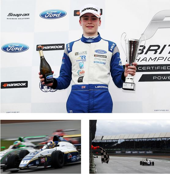 Richardson Racing fights back for F4 podium at Silverstone