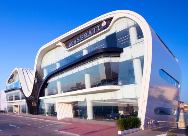 Al Tayer Motors facility has world's largest display area for Maserati in Dubai