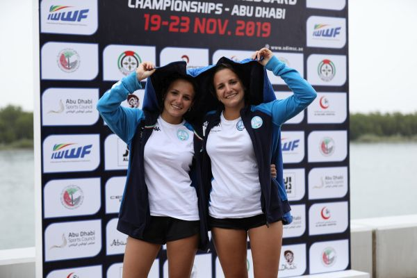 Italian twins double up on IWWF gold medal trail in Abu Dhabi