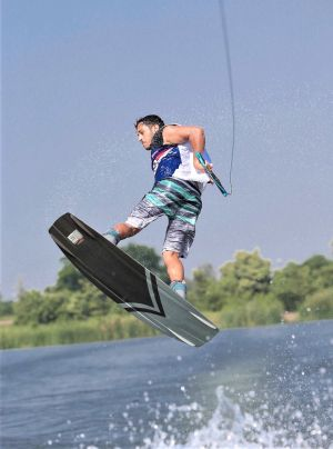 New UAE captain Subaa relishing chance to take on World's top Wakeboard stars in Abu Dhabi
