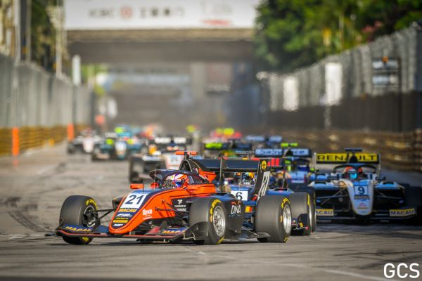 FIA F3 Macau Main race classification - Verschoor takes victory