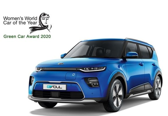 Kia wins two 2019 Women's World Car of the Year awards