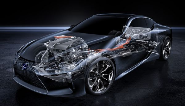 LEXUS The technology revolution: Four generations of self-charging hybrid electric power