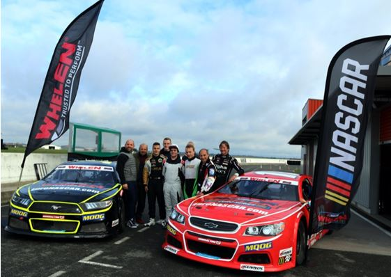 The 2020 Nascar Whelen Euro Series Recruitment Program hits the track