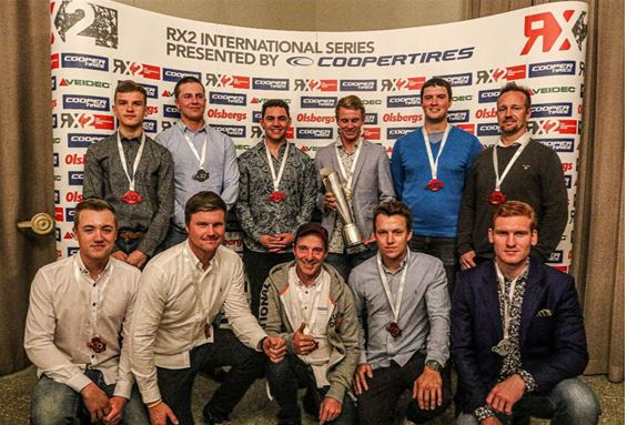 Spectacular RX2 season celebrated at South African Awards Gala
