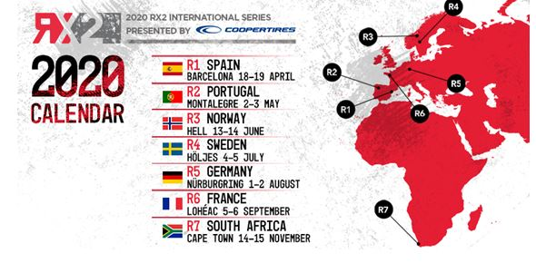 RX2 calendar reveals exciting new venues for 2020