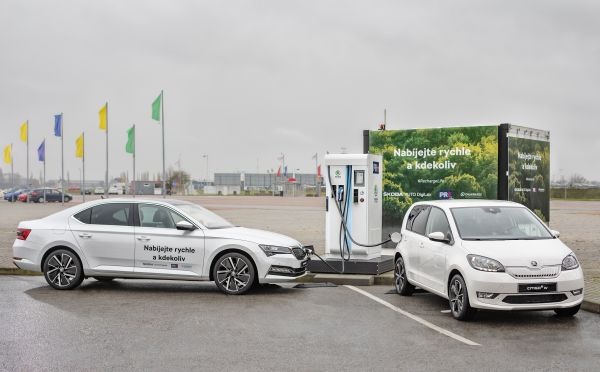 SKODA AUTO, PRE and Chakratec bring unique charging technology to Prague