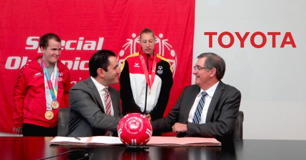 Toyota and Special Olympics expand partnership to Europe