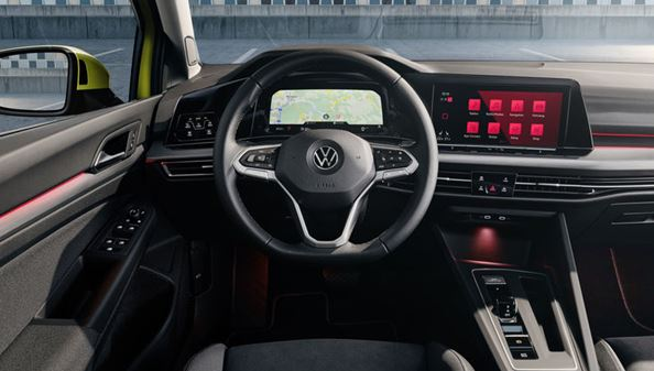 Highlight of the new VW Golf – The Digital Cockpit