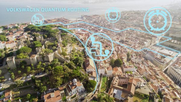 Volkswagen optimizes traffic flow with quantum computers in Lisbon