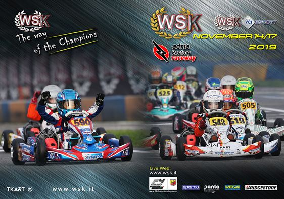 203 drivers expected at the WSK Final Cup at the Adria Karting Raceway