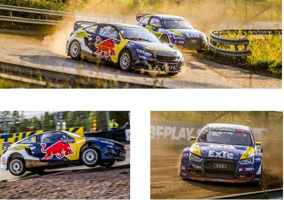 RallyX Nordic Tierp - Entry lists and standings