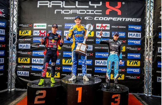Larsson claims RallyX Nordic crown by one point after rollercoaster finale
