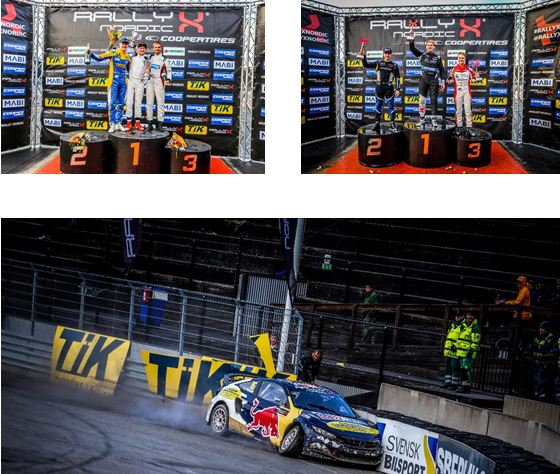 RallyX Nordic Tierp Arena -Results and Championship Standings