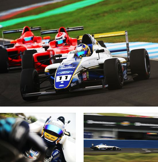Double top four for Richardson Racing as British F4 heads for Scotland