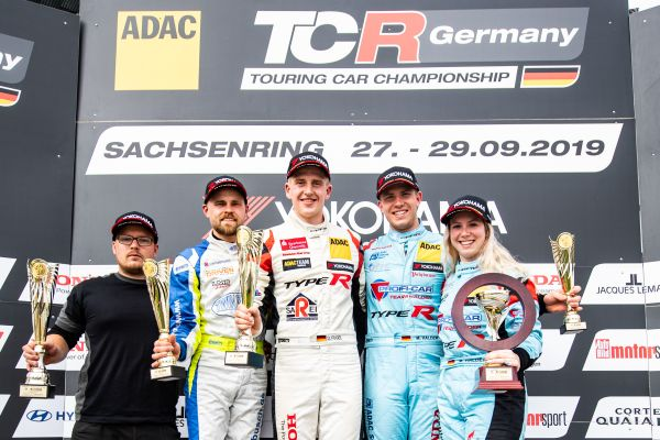 ADAC TCR Germany Sachsenring race 1 classification - Fugel's win