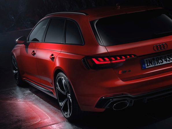 The new Audi RS 4 Avant - Update for the powerful wagon