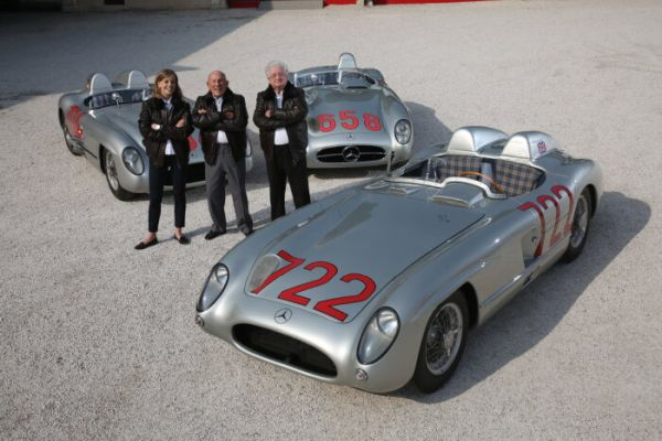 Mercedes-Benz racing driver Sir Stirling Moss: 90th birthday of the Silver Arrow knight