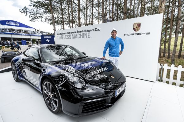 Paul Casey fulfils his Porsche dreams