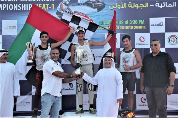 Salman Al Awadhi takes UAE Marathon Series lead ahead of China Aquabike test