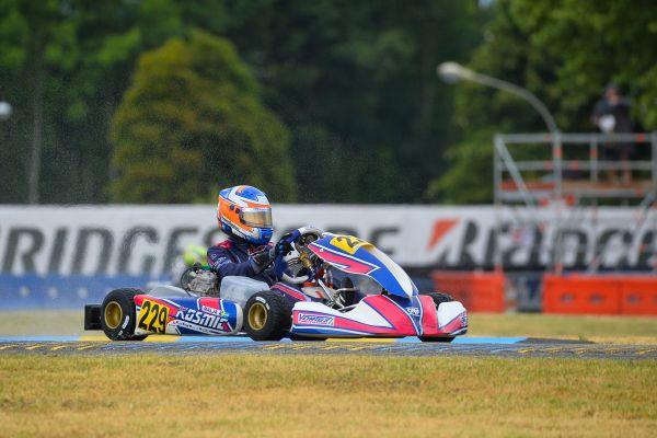 Kosmic Kart in Finland for the World Championship