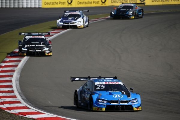 Eng best-placed BMW driver in eighth place at Sunday's Nürburgring DTM race.