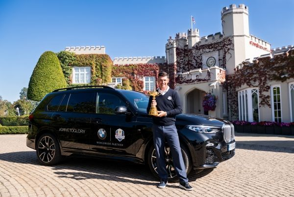 BMW launches #DRIVETOGLORY campaign to kick off one-year countdown to the 2020 Ryder Cup