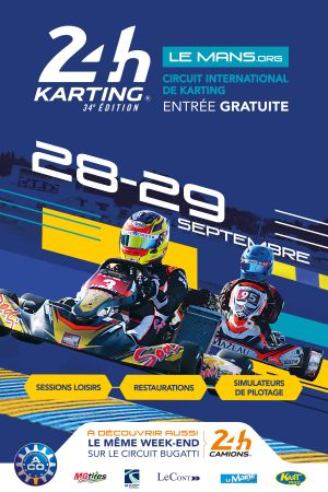 24 Hours Karting 2019 Le Mans: Into the final stretch-  rules, entry list