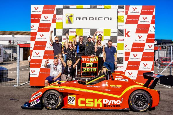 Superb Stoney secures Radical SR1 Cup crown in style at Donington