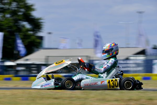 Tony Kart towards the OK and OK Junior World Champion