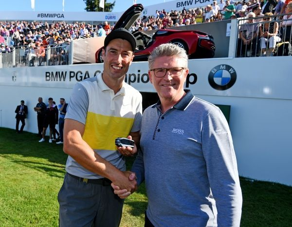 BMW PGA Championship: Ross Fisher wins Albatross Award