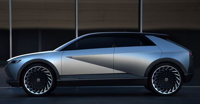 Hyundai's 45 Concept gives a vision of electrification, autonomous technologies and intelligent design