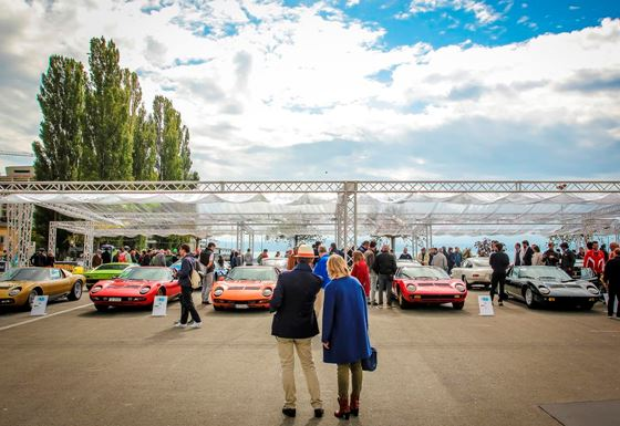 The Lamborghini & Design Concorso d'Eleganza returns