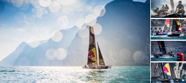 Red Bull Sailing Team clinch second GC32 podium in row at Lake Garda